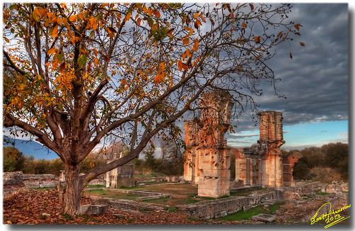 ancient nikon hellas greece hdr kavala orthodoxchurch archaeologicalsite filippoi nikond90 emilathanasiou emil9497photographyart