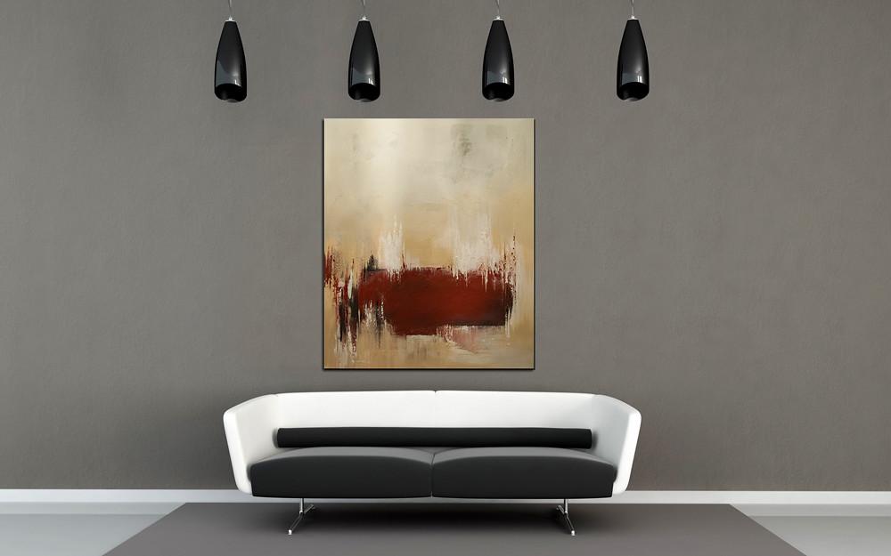 Acrylbilder Abstrakt The Red Line Wandbilder Modern Acry Flickr