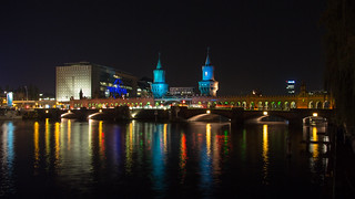lights on the river Spree
