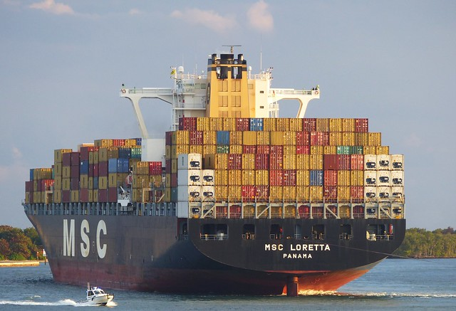 MSC Loretta - 25 January 2014