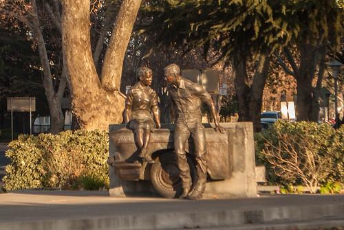 california plaza graffiti george lucas modesto american crusing