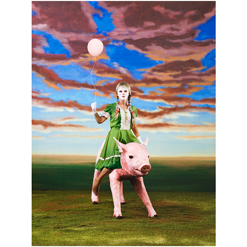 Marnie Weber, The Birthday Pig, 2007, at Patrick Painter Gallery