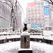 Hachiko in the Snow by tokyofashion