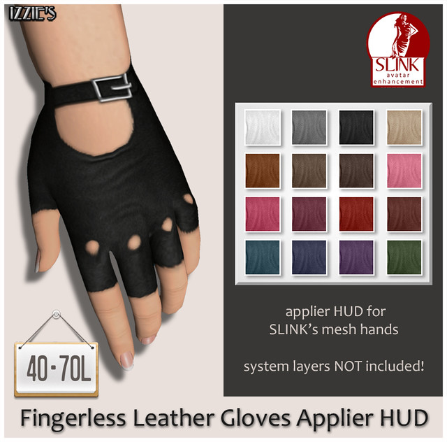 TDRF (Fingerless Leather Gloves Applier HUD)