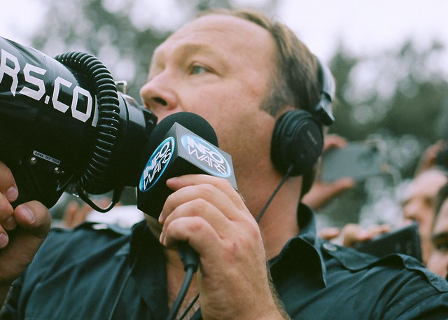 Header of Alex Jones