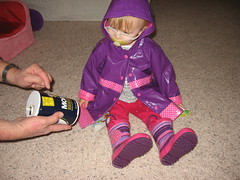 Kaitlyn Raincoat and Boots 004