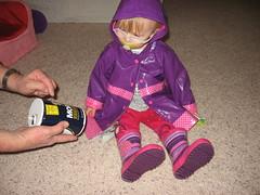 Kaitlyn Raincoat and Boots 004
