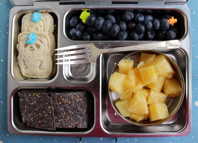 Preschool Bear Sandwich Bento #598