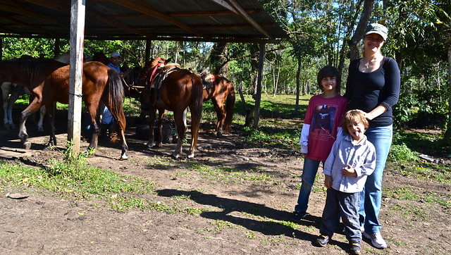 finca ixobel - horseback riding tour