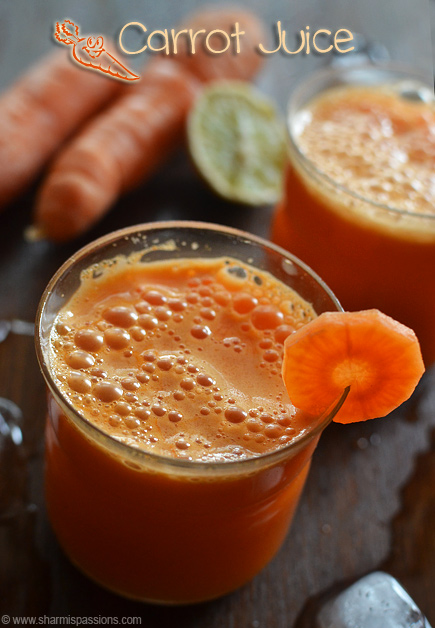Carrot Juice Recipe