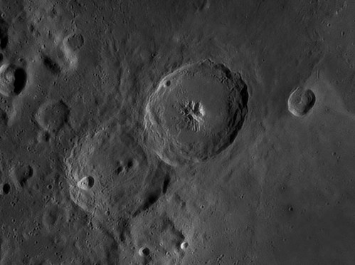 Theophilus crater by Mick Hyde