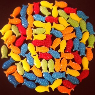 Fish candies #candies #sweets #fish #color