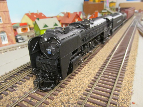 "A Broadway Limited Imports model of a New York Central Railroad ""S"" Class 4-8-4 Niagra steam locomotive. by Eddie from Chicago"