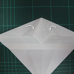 วิธีพับกระดาษเป็นรูปปลาแซลม่อน (Origami Salmon) 016