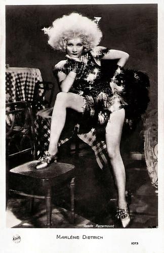 Marlene Dietrich, Blonde Venus