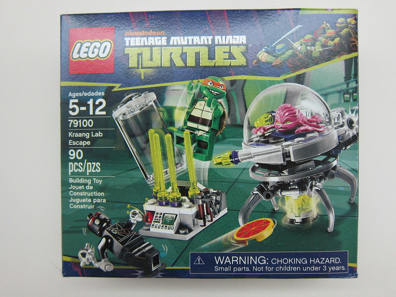Lego - 79100 - Ninja Turtles - Kraang Lab Escape