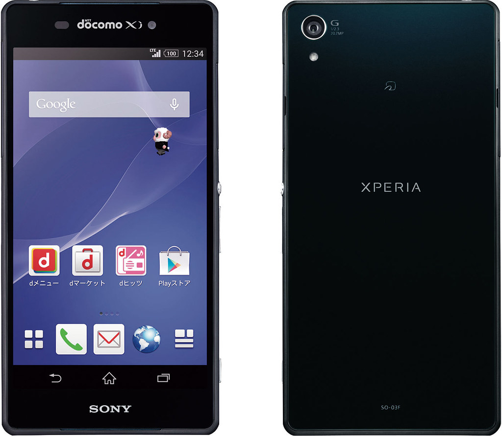 Xperia Z2 SO-03F full scale product image