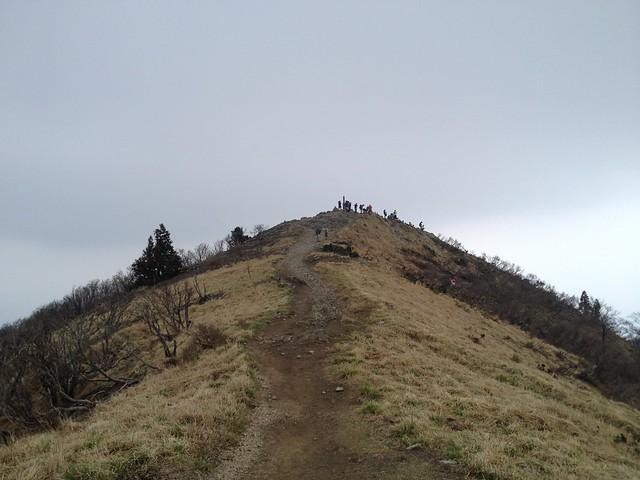 武奈ヶ岳 山頂
