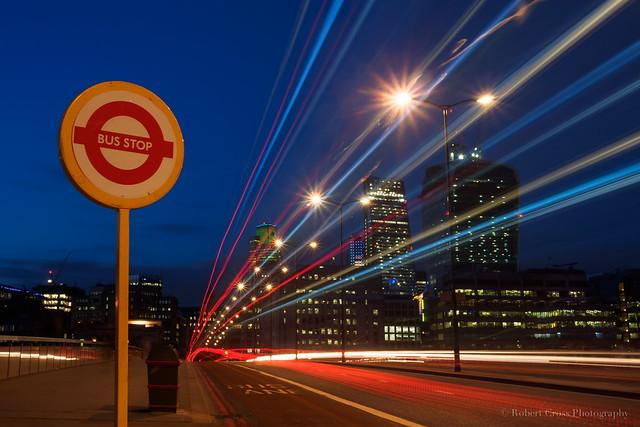 Bus Stop – London Bridge
