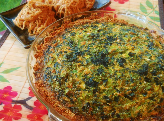 Egg Foo Young Quiche - GF/CF Paleo