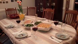 Fine dining at Chez Angela