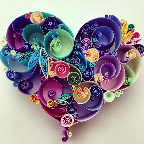 Quilled Heart by Sena Runa