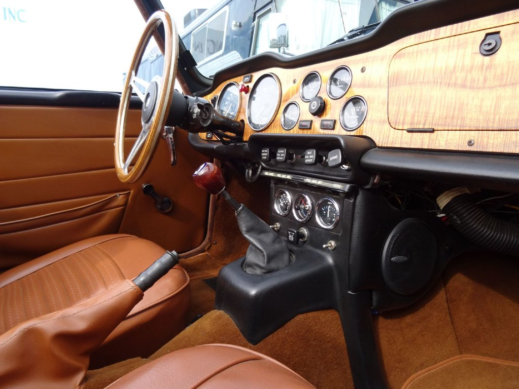 Modified 1973 Triumph Tr6 With Overdrive For Sale On Bat
