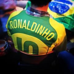 So happy for Brazil! #ronaldinho #worldcup #brasil
