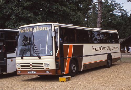 Nottingham City F792 JTV