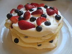 cake(0.0), semifreddo(0.0), baked goods(0.0), icing(0.0), torte(0.0), meal(1.0), breakfast(1.0), pavlova(1.0), bavarian cream(1.0), buttercream(1.0), whipped cream(1.0), frutti di bosco(1.0), produce(1.0), food(1.0), dish(1.0), dessert(1.0), cuisine(1.0), cream(1.0), mascarpone(1.0),