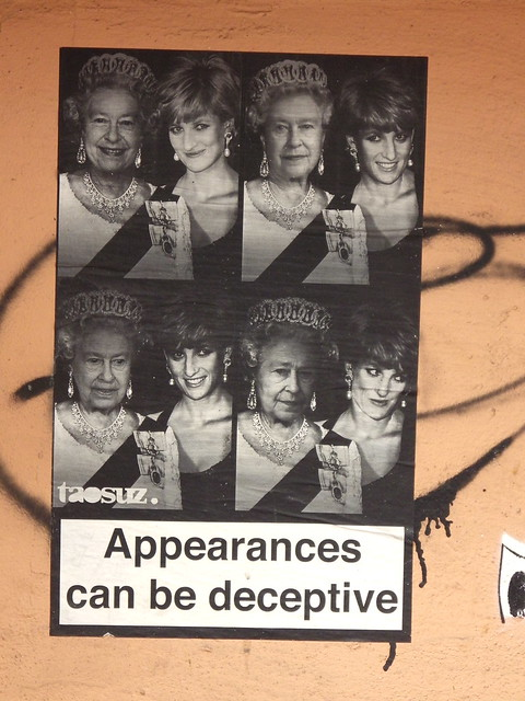 Appearances can be deceptive but necessary