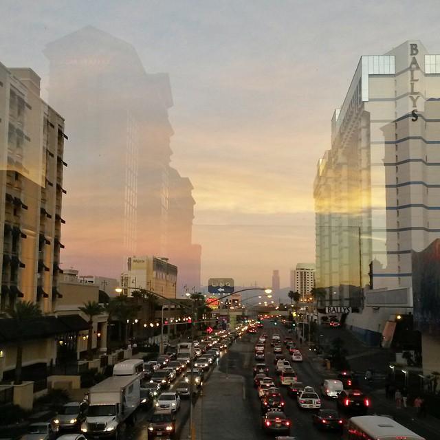 heijastumat, Las Vegas, Nevada, USA