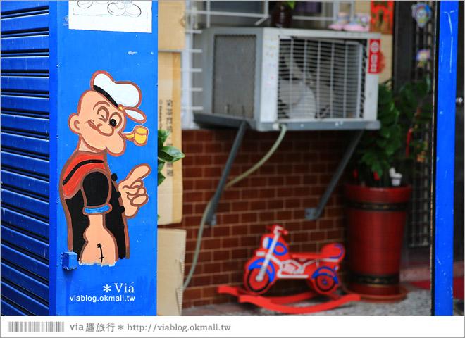 【大內龍貓公車站】台南龍貓公車站彩繪村~來去大內區石林里,陪龍貓等公車去!24