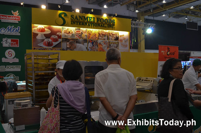 Sanmei Foods Int'l. Exhibit Booth