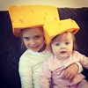 Dad went to Wisconsin and all we wanted were #Cheeseheads.