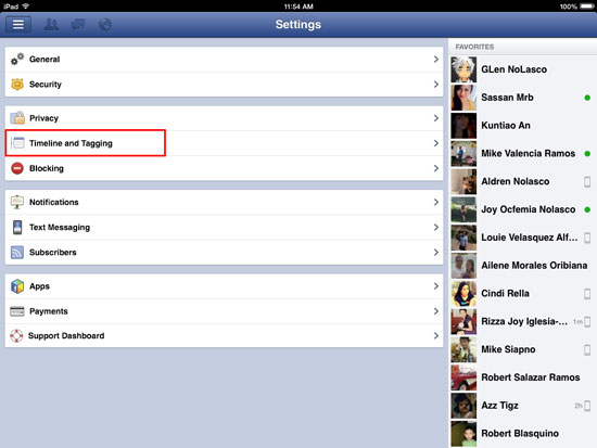 How to Block Friends from Posting on your Facebook Wall - iOS 2