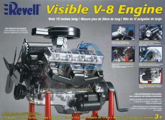 Revell 1/4 Visible V8 Engine