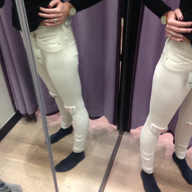 White skinny jeans cellulite – Global fashion jeans models