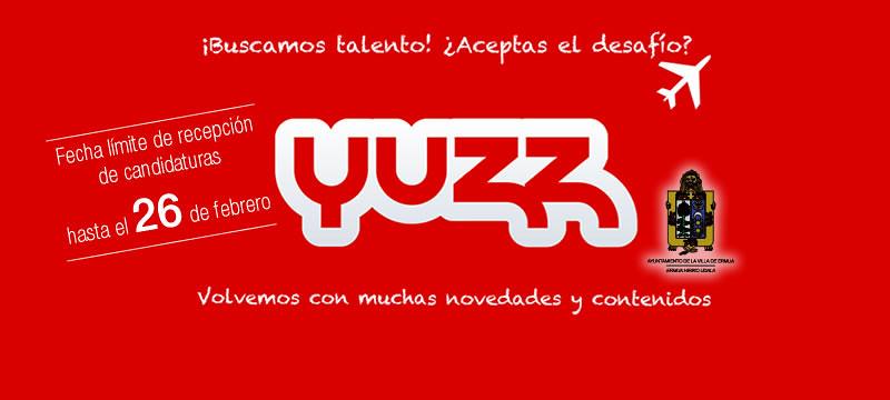 Cartel anunciador de Yuzz
