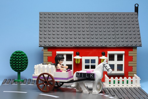 LEGO Friends Milk Cart