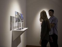 High School Art Show opening