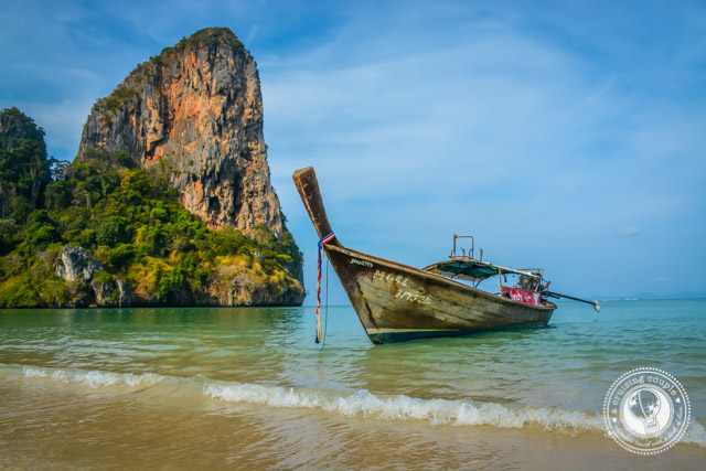 West Railay Rock Climbing Thailand