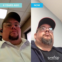 Geez... I guess it\'s been a rough 4 years... #grayhair