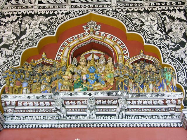 Detalle del Palacio Real deThanjavur