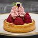 Strawberry Rhubarb Tart by Tom Noe