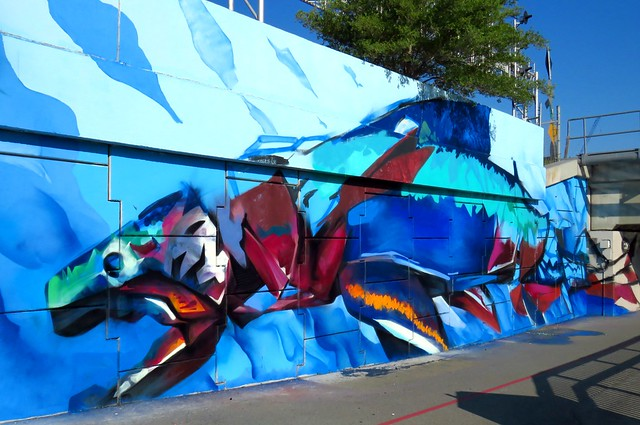 A Love Letter to the Great Lakes by Young Jarus and Kwest, Don River, Toronto, ON