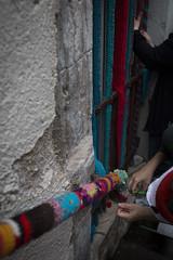 Yarn bombing Besançon 43