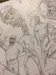 pencils for issue number 5