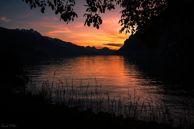 Walensee Sunset