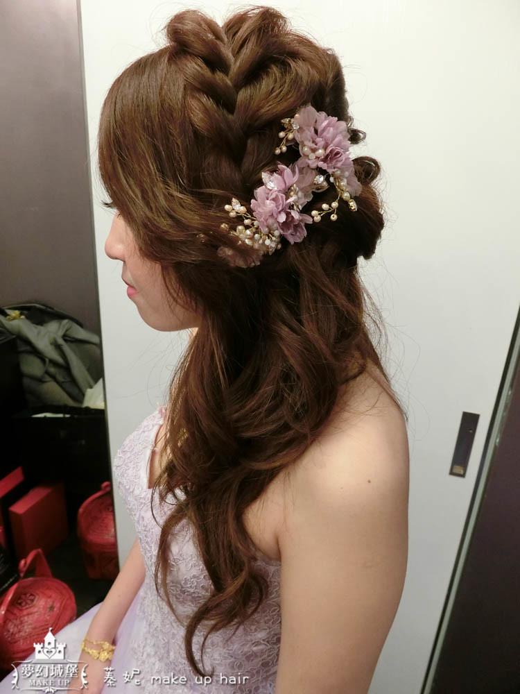 【新秘蓁妮】bride緹葳 結婚造型 / 台中非常棧婚宴會館